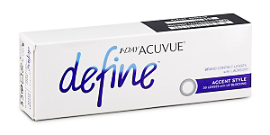 DEFINE ACCENT 1 DAY Contact lenses