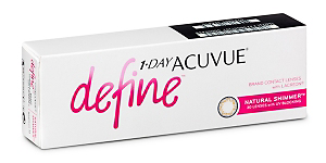 DEFINE SHIMMER 1 DAY Contact lenses