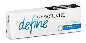 DEFINE SPARKLE 1 DAY Contact lenses