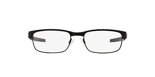 frames mens oakley metal plate rectangular glasses in black ox5038 opsm