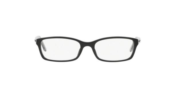 Burberry Black Frame Glasses : Frames Womens Burberry Full Round Glasses in Black ...