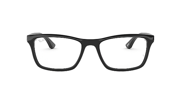 frames mens ray ban square full rim glasses in black rx5279 opsm