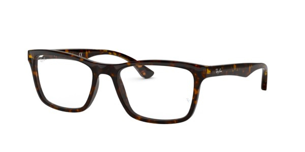 Ray Ban Glasses Without Frame : Frames Mens Ray-Ban Square Full Rimmed Glasses in ...