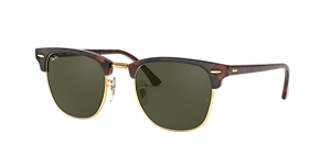 RAY-BAN RB3016 CLUBMASTER  49 Sunglasses