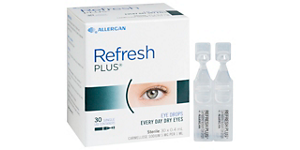 REFRESH REFRESH PLUS EYE VIALS Solutions and Accessories