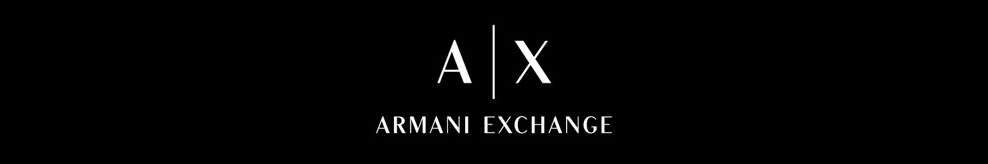 ARMANI EXCHANGE top banner