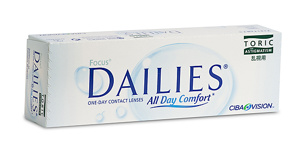 FOCUS DAILIES  ALL DAY COMFORT TORIC 30