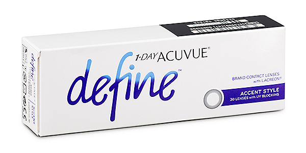 ACUVUE  DEFINE ACCENT 1 DAY