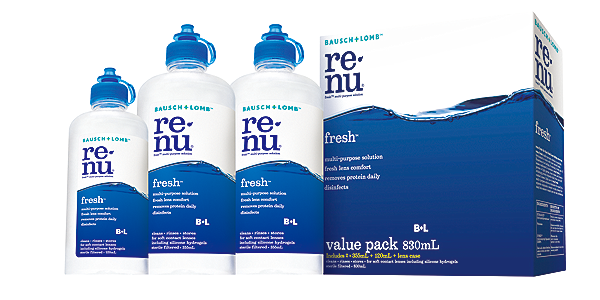 RENU RENU FRESH VALUE PACK SOLUTIONS AND ACCESSORIES