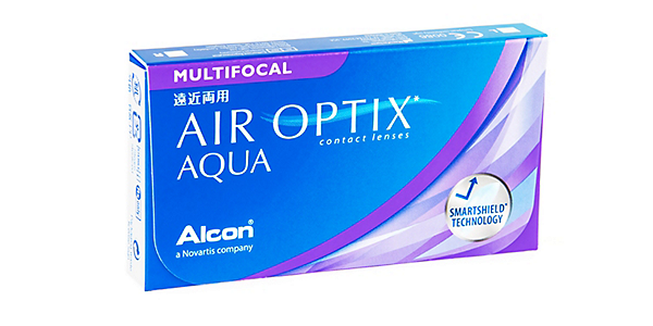 AIR OPTIX  AQUA MULTIFOCAL MED ADD