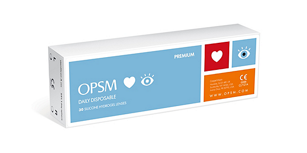 OPSM LOVES EYES  SPH 1 DAY 30 PACK