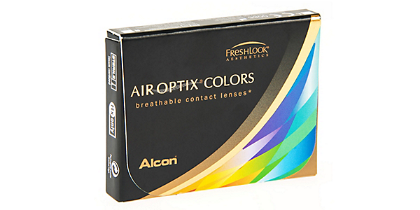 AIR OPTIX  COLOURS BROWN