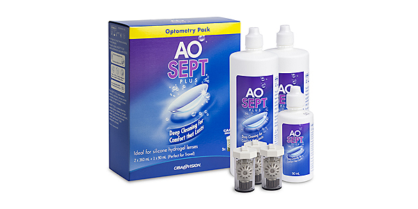 AOSEPT PLUS AOSEPT PLUS VALUE PACK SOLUTIONS AND ACCESSORIES