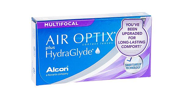 AIR OPTIX  PLUS HYDRAGLYDE MF LOW