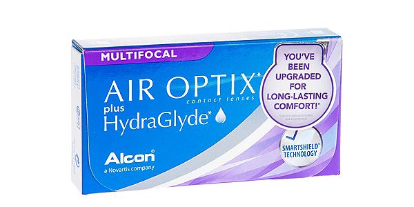 AIR OPTIX  PLUS HYDRAGLYDE MF HIGH