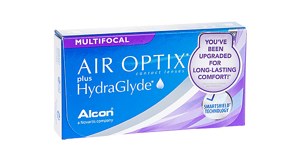 AIR OPTIX  PLUS HYDRAGLYDE MF MED