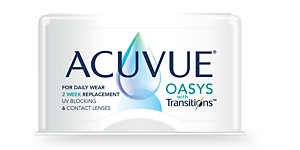 OASYS TRANSITIONS 8.4 Contact lenses