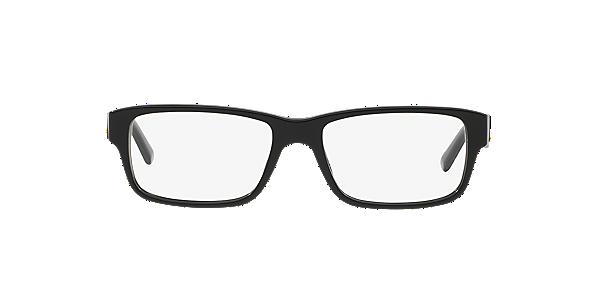 Frames | Men\'s Prada Rectangular Full Rimmed Glasses in Black ...