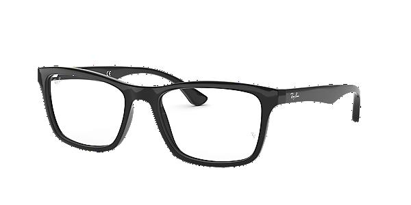 Frames Men S Ray Ban Square Full Rim Glasses In Black