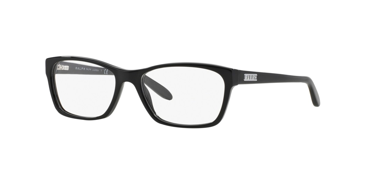 Frames | Women\'s Ralph Lauren Thick Black Glasses - RA7039 | OPSM