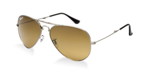 RAY-BAN RB3479 AVIATOR FOLDING  58 Sunglasses