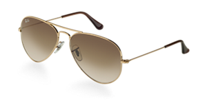 RAY-BAN RB3025 AVIATOR  55  SMALL Sunglasses