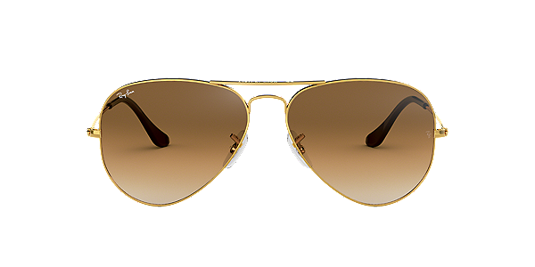 ray ban gold sunglasses
