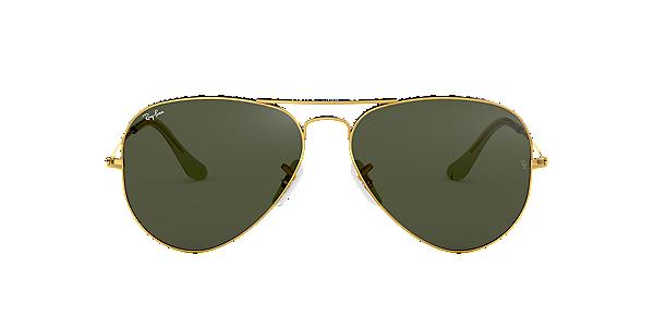 Ray Ban Aviator Sunglasses (Black) (RB 3025 00258)