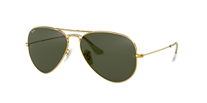 RAY-BAN RB3025 AVIATOR  58  MEDIUM Sunglasses
