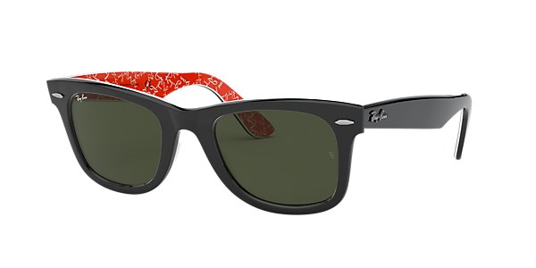 Ray-Ban RB2140F ORIGINAL WAYFARER RARE PRINTS