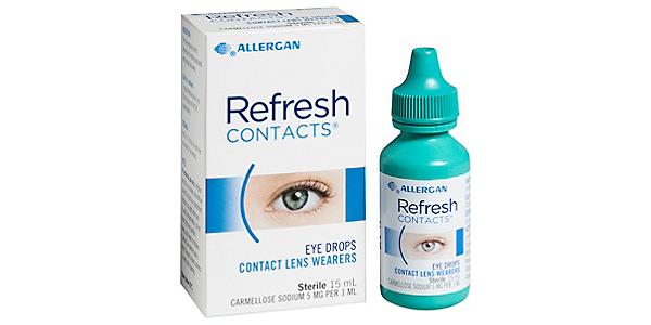 REFRESH REFRESH CONTACTS SOLUTIONS AND ACCESSORIES