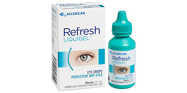 REFRESH REFRESH LIQIGEL SOLUTIONS AND ACCESSORIES