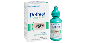 REFRESH REFRESH TEARS PLUS DROPS Solutions and Accessories