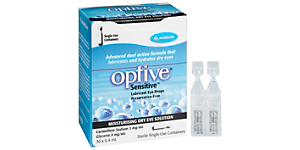 OPTIVE OPTIVE SENSITIVE VIALS Solutions and Accessories