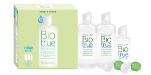BIOTRUE BIOTRUE VALUE PACK Solutions and Accessories