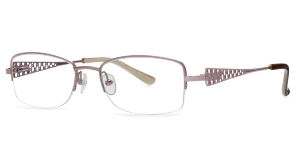 Rimless Glasses Benefits : Frames Womens Oroton Leah Semi-Rimless Oval Glasses in ...