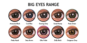 COLOURVUE BIG EYES 2PK