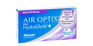 AIR OPTIX PLUS HYDRAGLYDE MULTIFOCAL 3PK