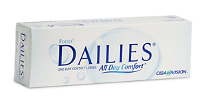 FOCUS DAILIES ALL DAY COMFORT 30PK
