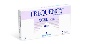 FREQUENCY XCEL TORIC 3PK