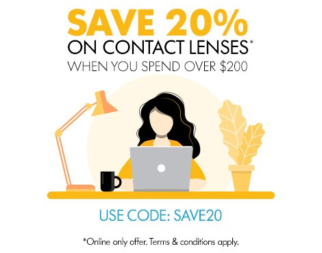 Spend and Save on Contacts